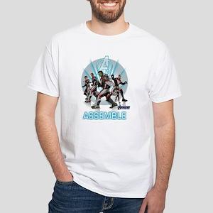 Assemble Avengers Men's Classic T-Shirts