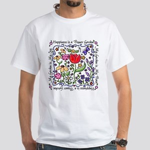 My Garden, My Joy White T-Shirt