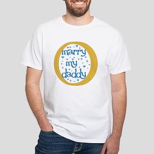 """Marry my Daddy"" Baby Boy T-Shirt"