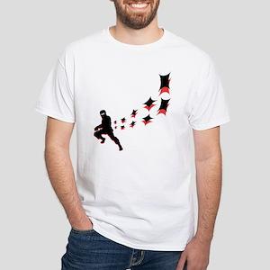 Hip Ninja White T-Shirt
