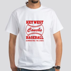 Key West Conchs Dominating th White T-Shirt