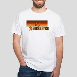 Sucka Free White T-Shirt