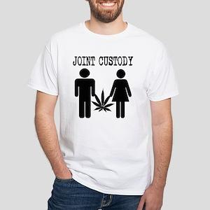 Joint Custody White T-Shirt