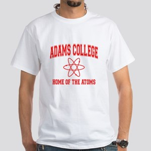Adams College White T-Shirt