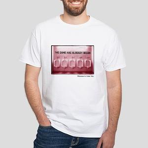 Kinnick Pink White T-Shirt