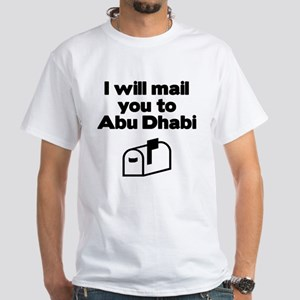 Abu Dhabi White T-Shirt