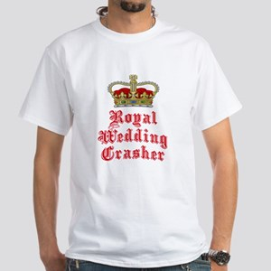 Royal Wedding Crasher White T-Shirt
