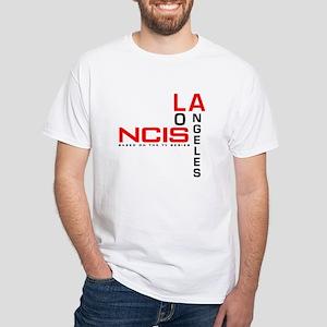 NCIS Los Angeles White T-Shirt