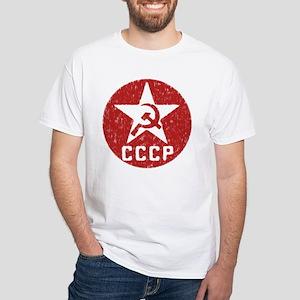 CCCP White T-Shirt