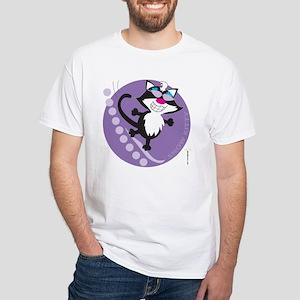 SNOW KITTY White T-Shirt
