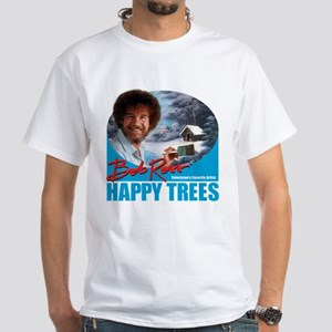 DarkT_HappyTrees_SkyBlue T-Shirt