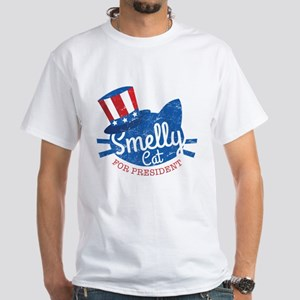 Friends Smelly Cat for President White T-Shirt