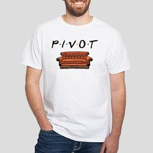 Friends Pivot! Pivot! White T-Shirt