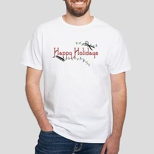 Happy Hairstylist Holidays White T-Shirt