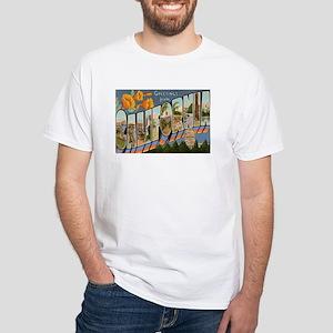 California CA White T-Shirt