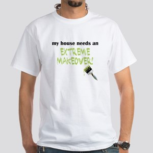 EMHE Paintbrush White T-Shirt
