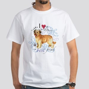 Pyrenean Shepherd White T-Shirt