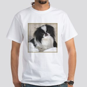 Deluxe Japanese Chin Darling White T-Shirt