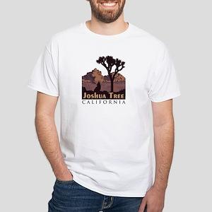 Joshua Tree National Park. White T-Shirt