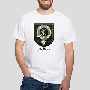 McMillan Clan Crest Tartan White T-Shirt