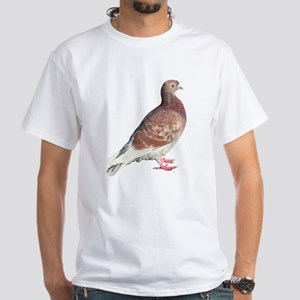 Red Pigeon (Isolated) White T-Shirt