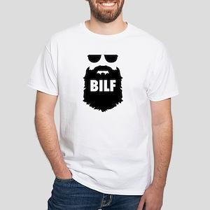 BILF. Beard I'd like to F***. Funny B T-Shirt