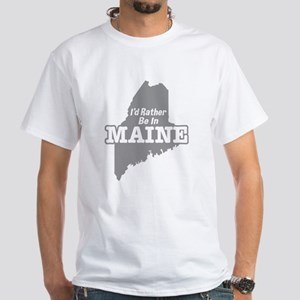 I'd Rather Be In Maine Women's Dark T-Shirt