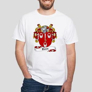 Dunn Family Crest White T-Shirt
