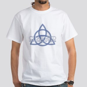 Charmed Trinity Power of Three White T-Shirt