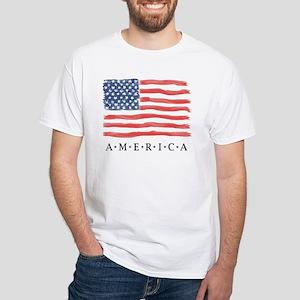 American Flag / Traditional Design - T-Shirt