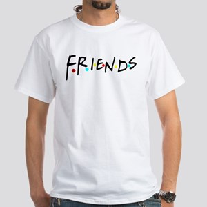 friendstv logo White T-Shirt