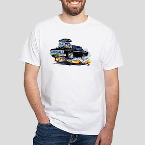 1964 Fury Black Car White T-Shirt