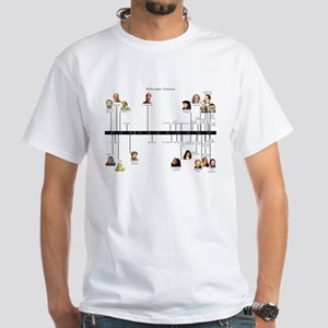 Philosophy Timeline White T-Shirt