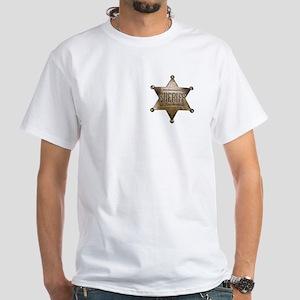 Sheriff - White T-Shirt