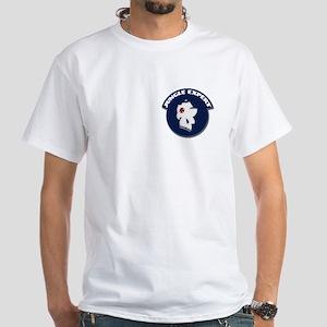 7th Infantry Div (L) Panama White T-Shirt
