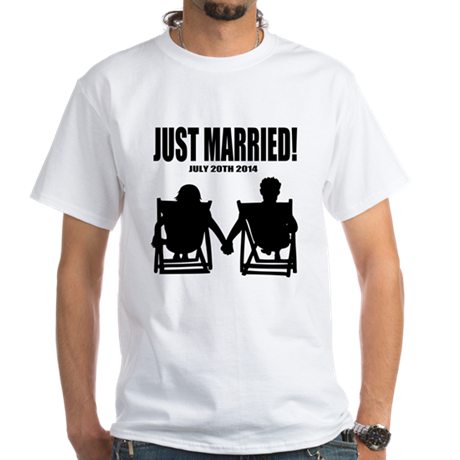 Just Married | Personalized wedding T-Shirt