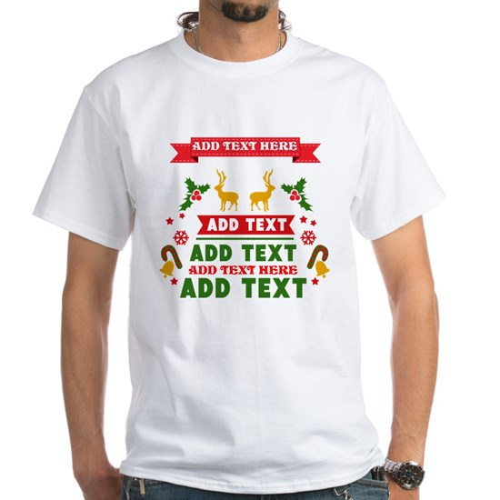 personalized add Text Christmas