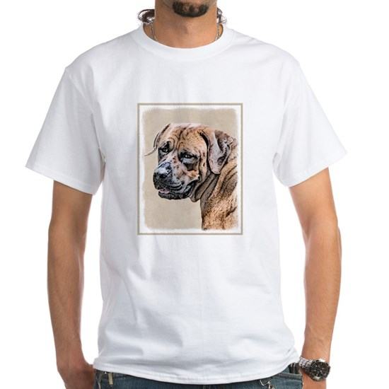 Tosa Inu Men's Classic T-Shirts Tosa Inu White T-Shirt By