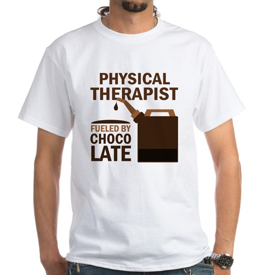 PHYSICAL THERAPIST FUELED CHOC Men's Classic T-Shirts ...