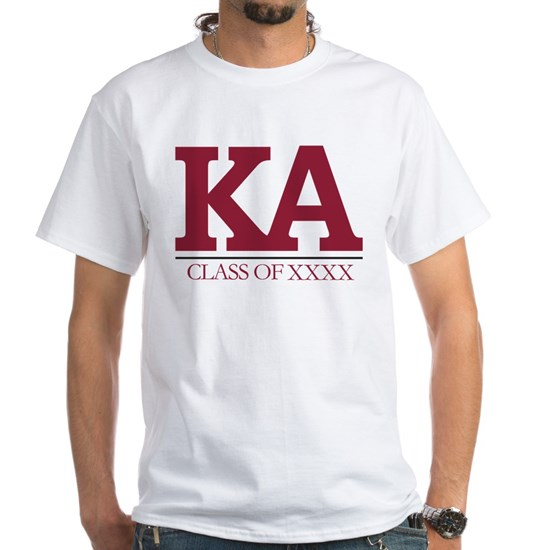 Kappa Alpha Initials Class of XXXX