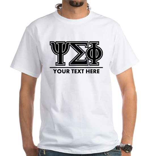 Psi Sigma Phi Letters Personalized