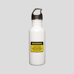 a664a791cf dihydrogen monoxide Stainless Steel Water Bottle