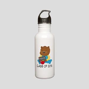 Class of 2015 Teddy Bear Stainless Water Bottle 0.