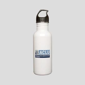 Aclu-Va Logo Stainless Water Bottle 0.6l