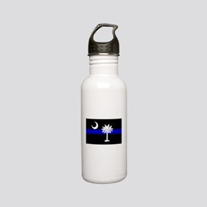South Carolina Police Stainless Water Bottle 0.6L