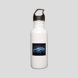 Boss 302 Grabber Blue Stainless Steel Water Bottle