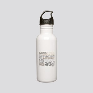 Trainer Manifesto Stainless Water Bottle 0.6L