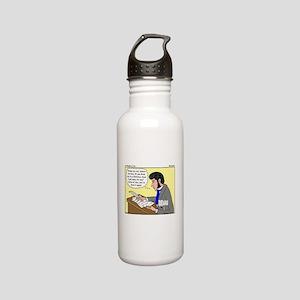 Kierkegaard Poetry Stainless Water Bottle 0.6L