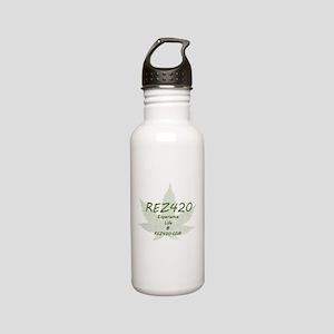 REZ420 WS LOGO Stainless Steel Water Bottle