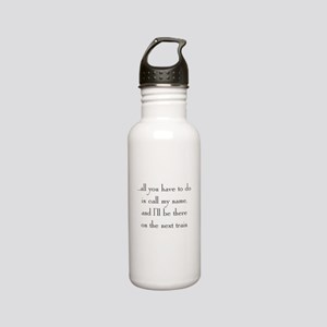 Theme 2 Stainless Water Bottle 0.6L